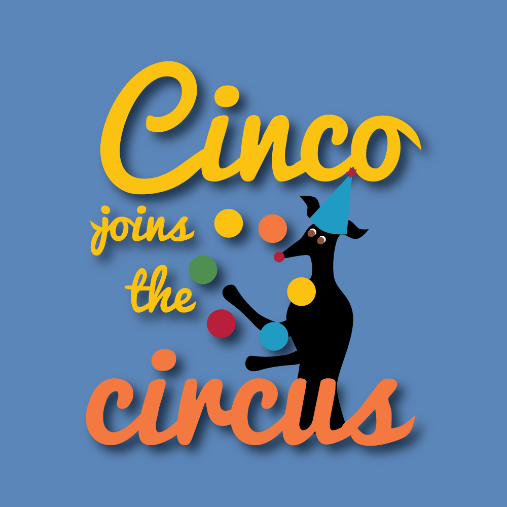 QwkDog Cinco Joins the Circus Cover